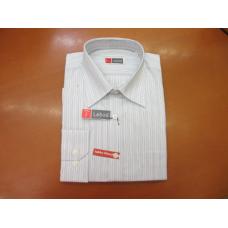 Bela srajca z modrimi črtami